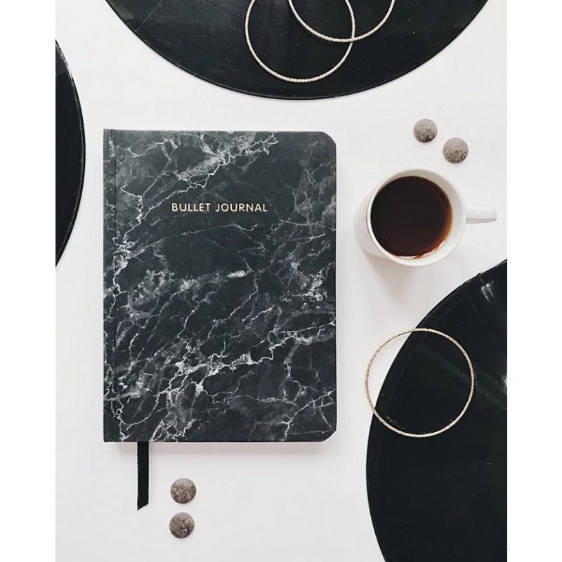 Блокнот в точку: Bullet Journal (мрамор) (фото 2)
