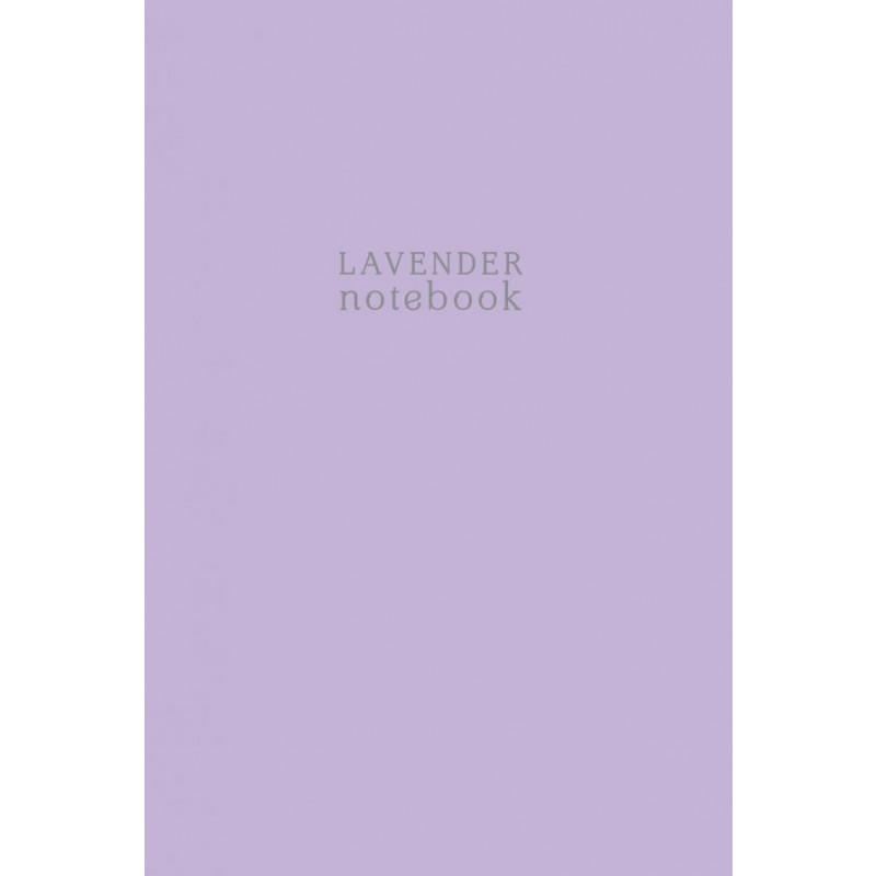 Тетрадь студенческая в клетку Lavender notebook, А4, 40 листов