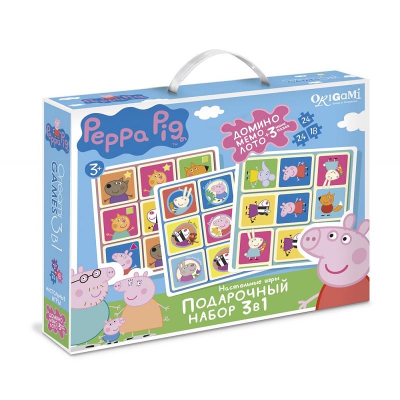Набор Подарочный 3 в 1. Свинка Пеппа