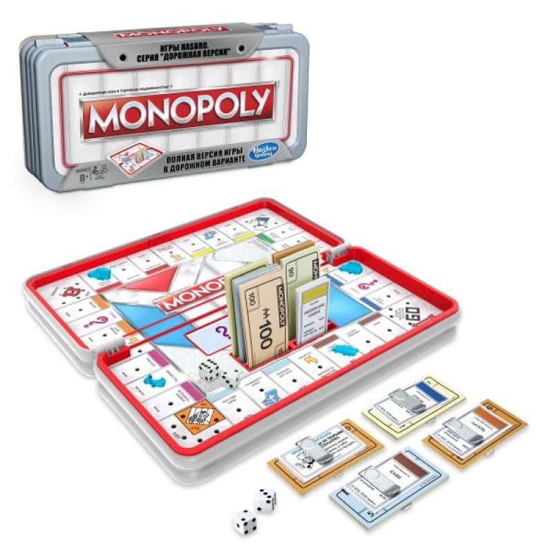 Дорожная настольная игра «Монополия. Роудтрип»