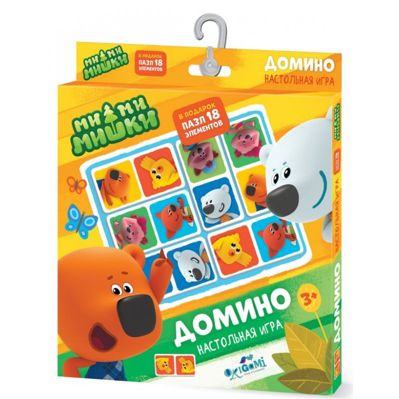 Настольная игра МиМиМишки. Домино