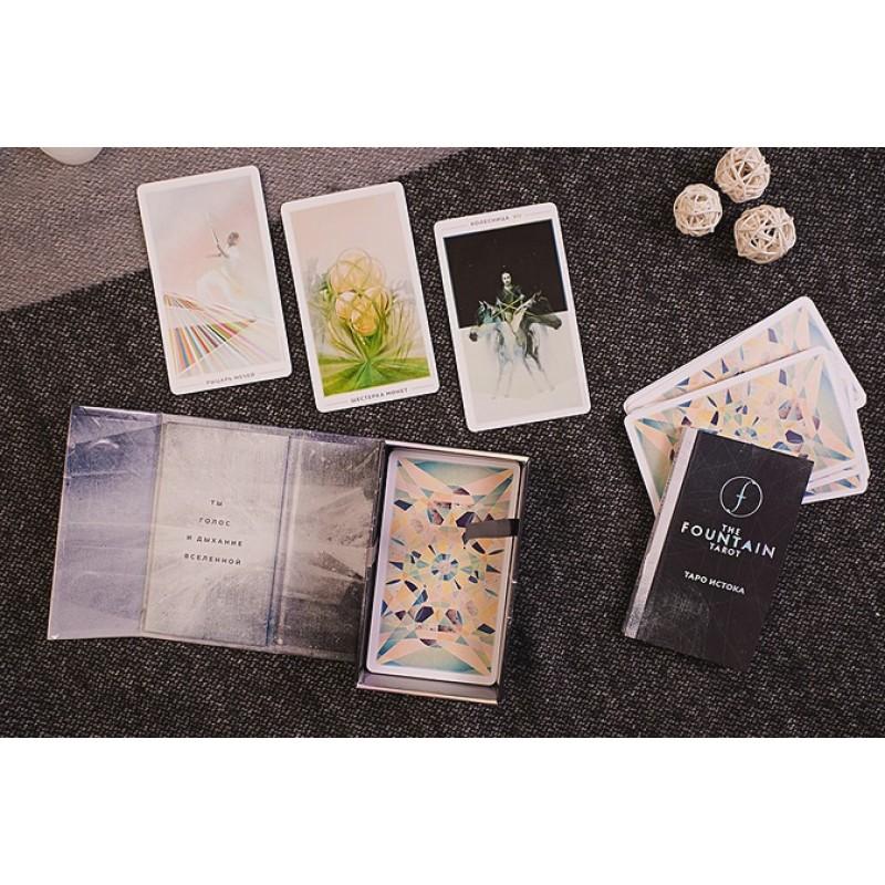 The Fountain Tarot. Таро Истока. 80 карт и руководство в подарочном футляре (фото 2)