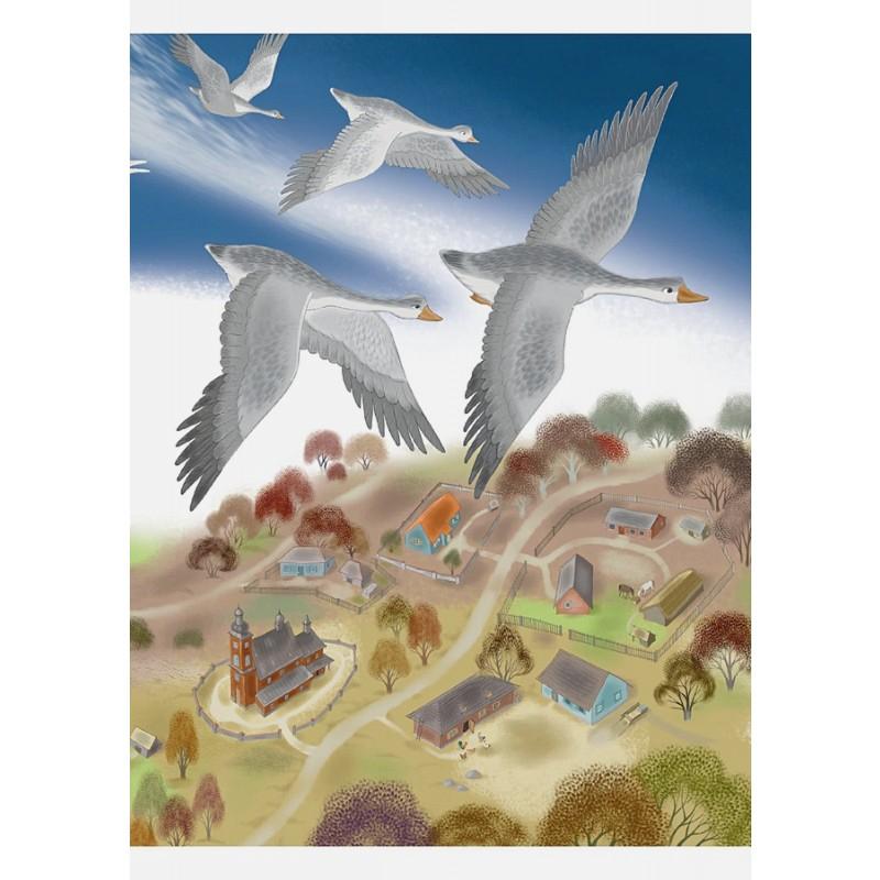Путешествие Нильса с дикими гусями (ил. И. Панкова) (фото 5)