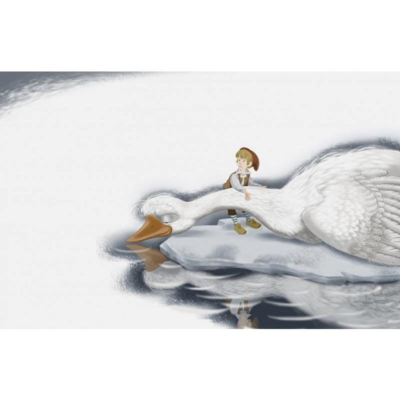 Путешествие Нильса с дикими гусями (ил. И. Панкова) (фото 8)