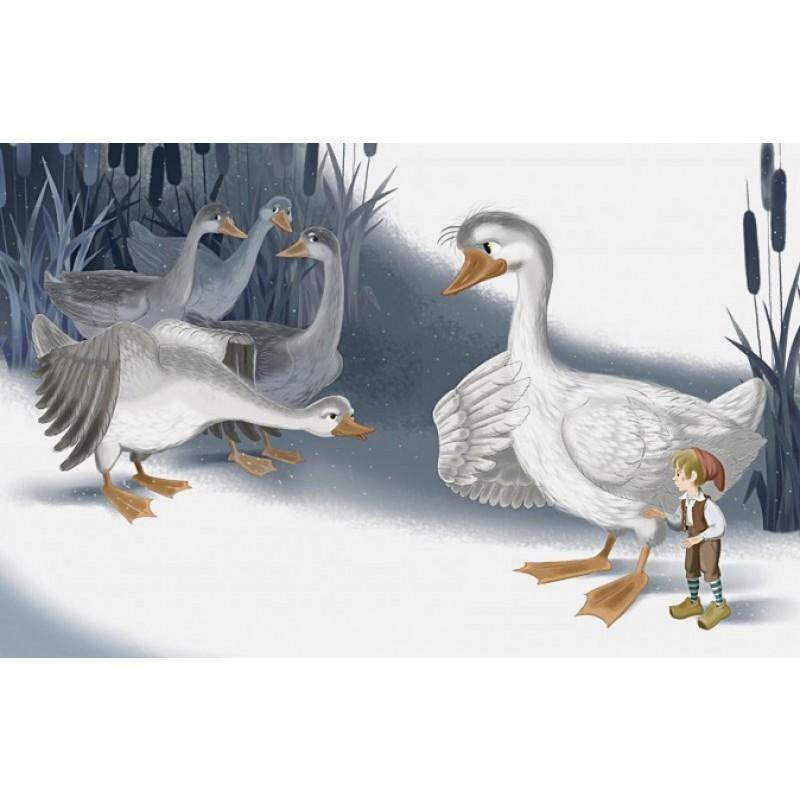Путешествие Нильса с дикими гусями (ил. И. Панкова) (фото 9)