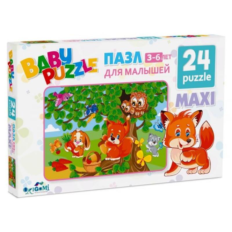 Пазл 24 эл. Для Малышей. Собираем ягоды