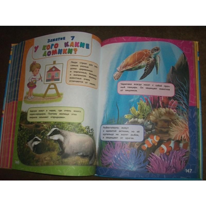 Годовой курс занятий:для детей 3-4 лет (с наклейками) (фото 4)