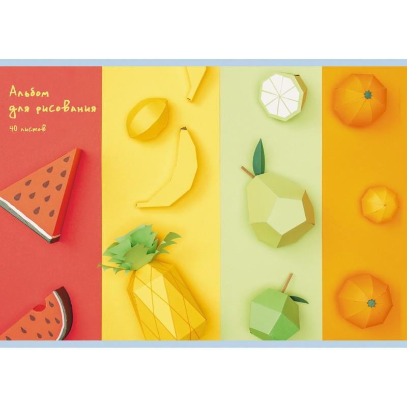 Альбом для рисования «Вкус лета», 40 листов