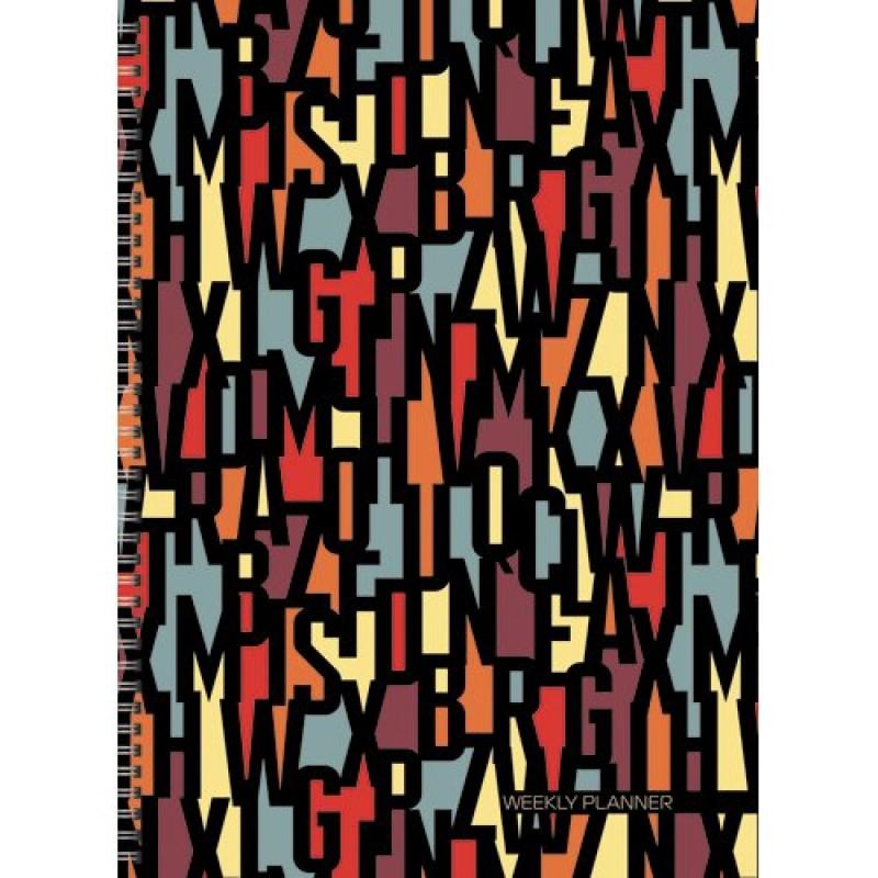 Офисный стиль. Буквенный орнамент (А4, 72л., шир. евроспираль)