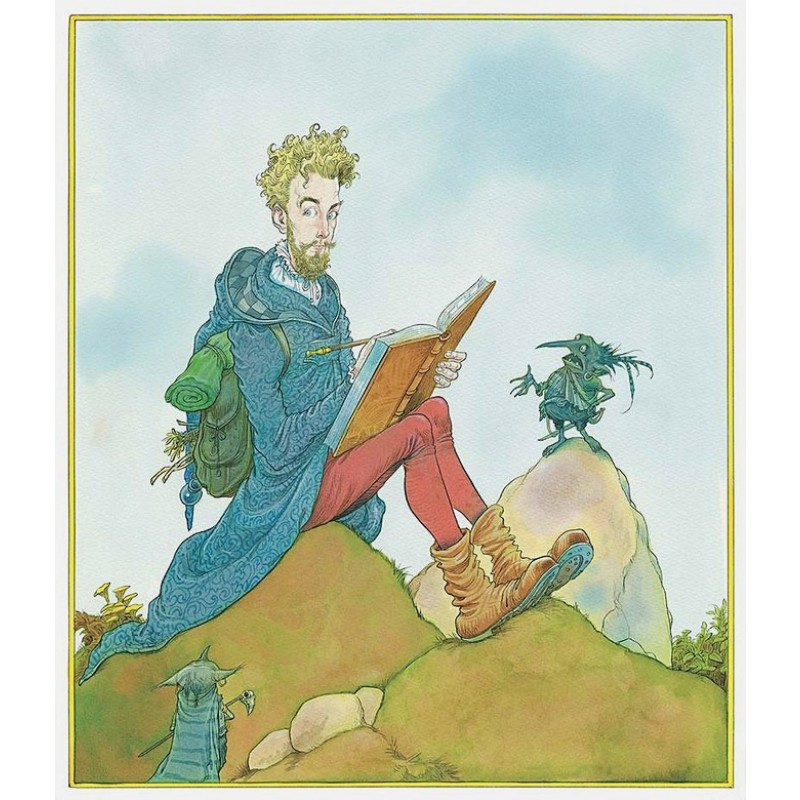 Сказки барда Бидля (иллюстр. Криса Ридделла) (фото 4)