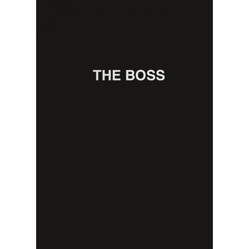 Ежедневник The boss (черный). А5, твердый переплет на навивке, золотая матовая фольга, 224 стр.